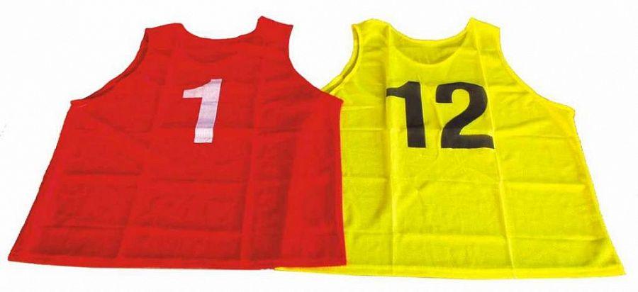 b2faf29f9daff Sada rozlišovacích dresov s číslami 1-12   Sportovní potreby