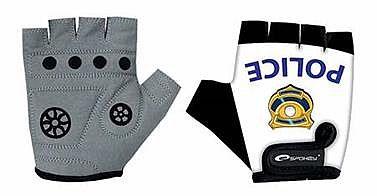 7ab0cf5abee Spokey POLICE GLOVE Dětské cyklistické rukavice dětské XXS (15