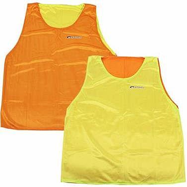 7b62897bf Spokey SHINY Vesta žltá / oranžová obojstranná | Sportovní potreby