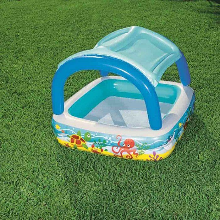 6c4bbabcaee60 Dětský nafukovací bazén se stříškou Bestway moře. Dětský nafukovací bazén  se stříškou Bestway moře