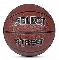 Basketbalová lopta Select Basketball Street hnedá