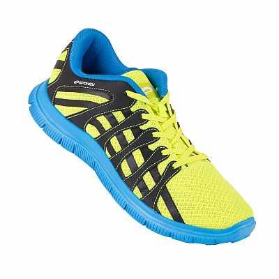 Spokey Liberate 7 Bežecké topánky modrá-žltá vel.40 - 45 7a16c05e83